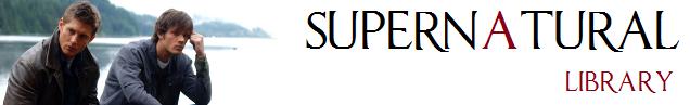 Supernatural Library - Supernatural Wiki